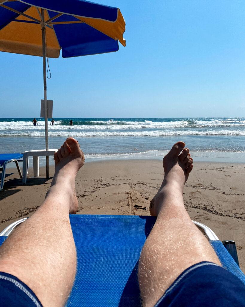 Livet på en strandstol